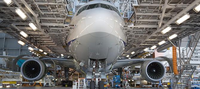 [garelly]ANA Airplane Maintenance Facility 2014/05/17